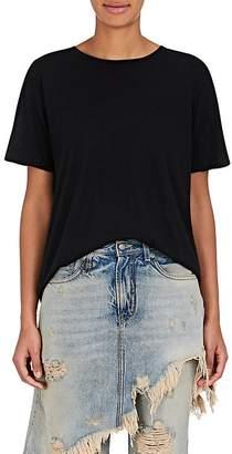 """R 13 Women's """"Boy"""" Cotton-Cashmere T-Shirt"""