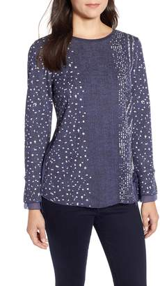 Nic+Zoe Dotted Line Top