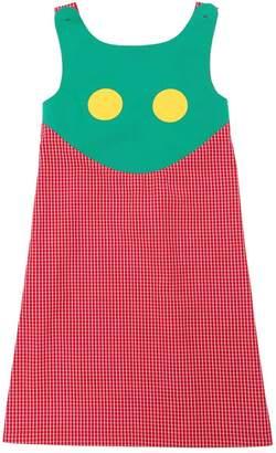 Cotton Gingham Dress