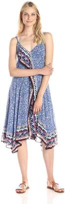 French Connection UK Women's Collection Bali Border Handkerchief Dress
