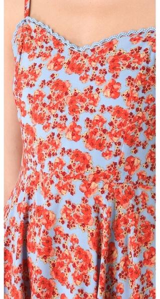 MinkPink Red Sky Dress
