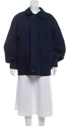 Burberry Collared Zip-Up Jacket