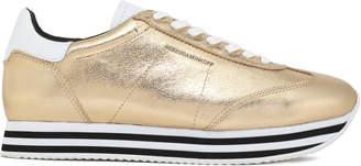 Rebecca Minkoff Metallic Leather Sneakers