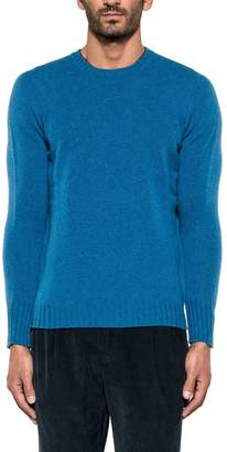 Drumohr Cobalt Wool Sweater