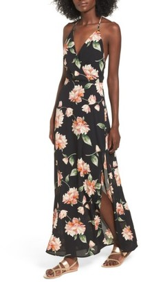 Women's Lush Surplice Maxi Dress $55 thestylecure.com