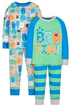 Mothercare Boy's 2 Pack Pyjama Sets,(Manufacturer Size: 110 cms)