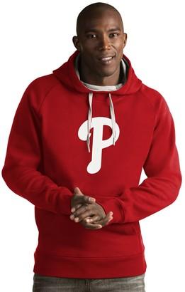 Antigua Men's Philadelphia Phillies Victory Logo Hoodie