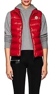 Moncler Women's Ghany Tech-Taffeta Puffer Vest-Red