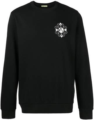 Versace patch detail sweatshirt