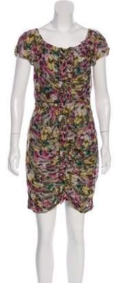 Leifsdottir Silk Knee-Length Dress