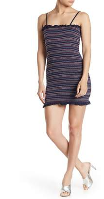 Taylor & Sage Smocked Tank Body Con Dress