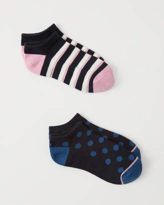 Abercrombie & Fitch 2-Pack Ankle Socks