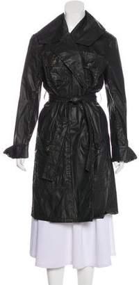Chanel Belted Rain Coat