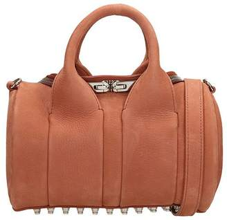 Alexander Wang Terracotta Calf Suede Mini Rockie Shoulder Bag