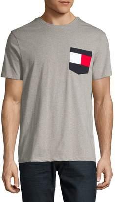 Tommy Hilfiger Logo Cotton Pocket Tee