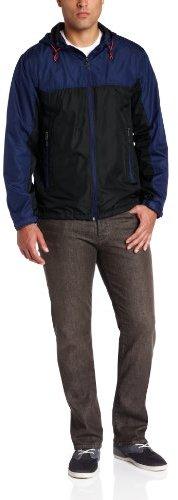 Hawke & Co Men's Colorblock Lightweight Travel Jacket