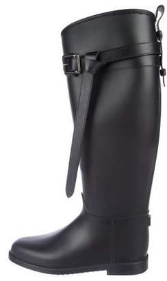 Burberry Knee-High Rain Boots
