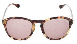 Marc by Marc Jacobs Tortoiseshell Round Sunglasses