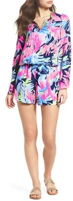 Lilly Pulitzer R) Ariele Floral Romper