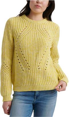 Lucky Brand Crewneck Long-Sleeve Sweater