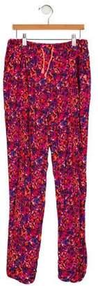 Catimini Girls' Printed Woven Pants