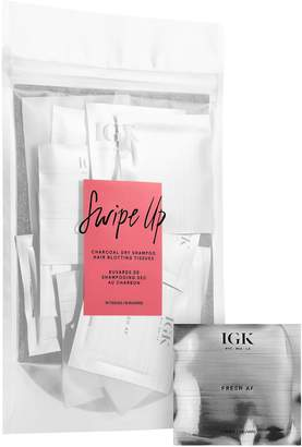 Igk IGK - Swipe Up Charcoal Dry Shampoo Hair Blotting Tissues