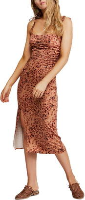 Free People Show Stopper Body-Con Midi Dress