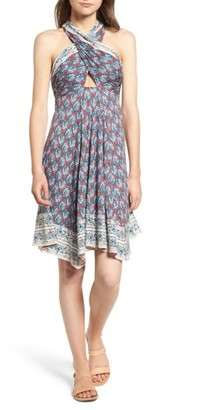 Women's Ella Moss Bordeaux Tapestry Dress $178 thestylecure.com
