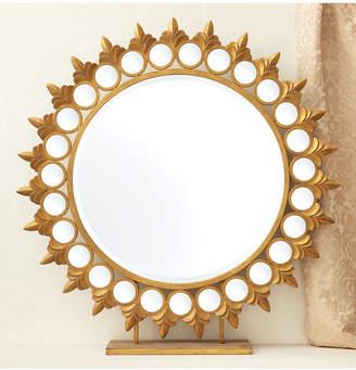 Twos Company Two's Company Two's Company Sun Mirror on Pedestal