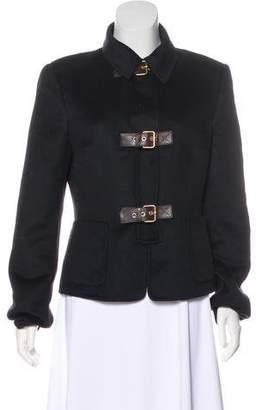 Michael Kors Wool-Blend Collar Jacket
