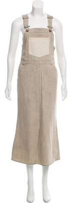 See by Chloe Maxi Overall Dress