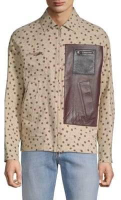 Valentino Star Spread Collar Jacket