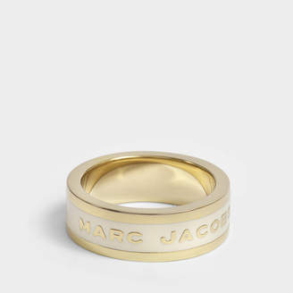 Marc Jacobs Logo Disc Band Ring
