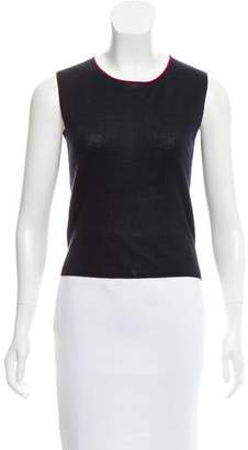 Chanel Sleeveless Cashmere Top