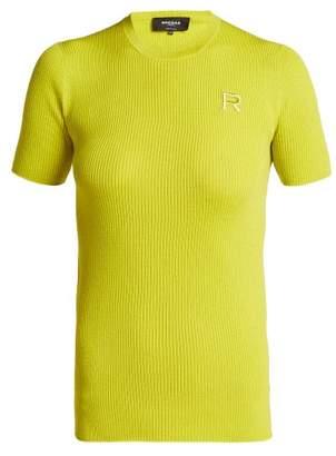 Rochas Ribbed Virgin Wool Sweater - Womens - Light Green
