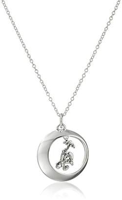 Disney Sterling If Your Heart Is In Your Dreams No Request Is Too Extreme Pendant Necklace