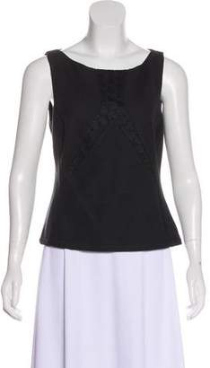 Rene Lezard Sleeveless Knit Top w/ Tags
