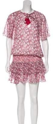 Rebecca Minkoff Floral Print Mini Dress