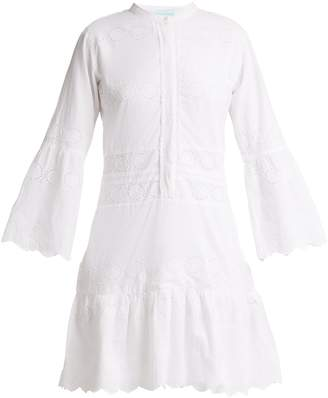 Melissa Odabash Abby broderie-anglaise cotton dress