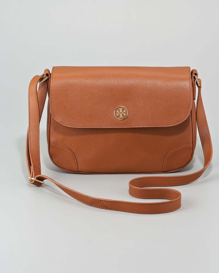 Tory Burch Robinson Triple-Gusset Crossbody Bag