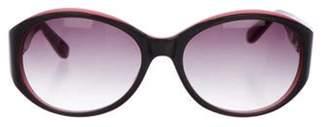 Derek Lam Gradient Round Sunglasses Grey Gradient Round Sunglasses