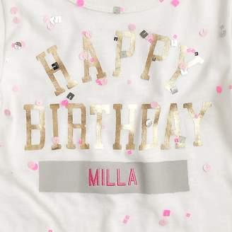 J.Crew Girls' happy birthday T-shirt
