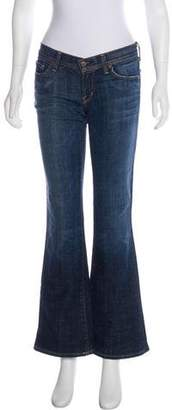 Citizens of Humanity Low-Rise Flared Jeans