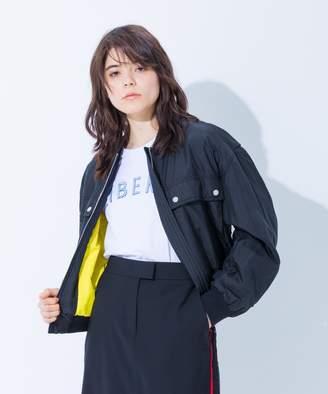 Calvin Klein (カルバン クライン) - Calvin Klein women 【2018SS】シルクナイロン ブルゾン(C)FDB
