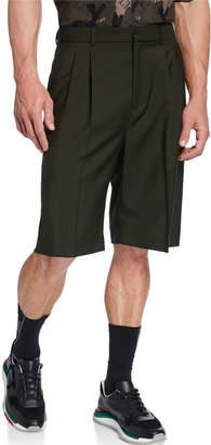 Valentino Men's Pleated-Front Bermuda Shorts