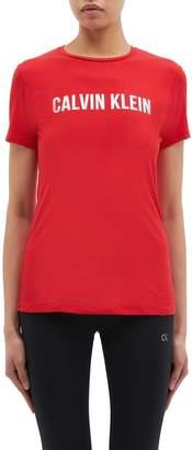 Calvin Klein Logo print performance T-shirt