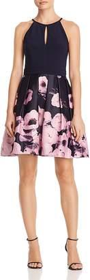 Aqua Floral Skater Dress - 100% Exclusive