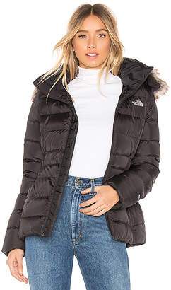 The North Face Gotham Jacket II With Faux Fur Trim