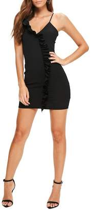 Missguided Ruffle Body-Con Dress