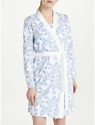 Womens Floral Cotton Robes - ShopStyle UK